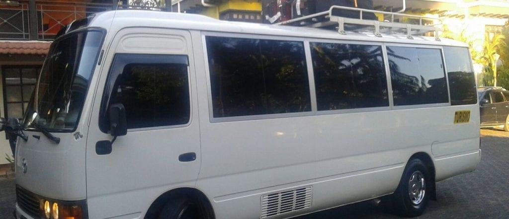 Costa Rica Private Bus Driver